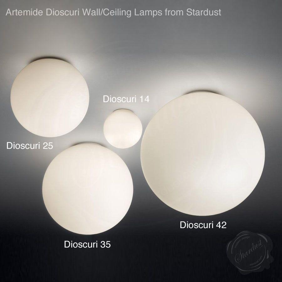 Artemide dioscuri 42 wallceiling lamp by michele de lucchi artemide dioscuri 42 wallceiling lamp by michele de lucchi stardust aloadofball Choice Image