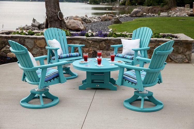 Img 7427 0 Jpg Wood Patio Furniture Painted Outdoor Furniture Poly Outdoor Furniture