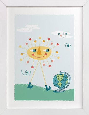 Good Day for a Walk by ERAY at minted.com
