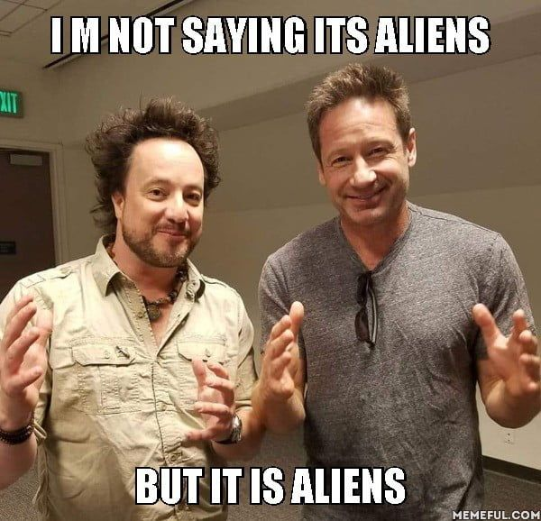 Photo of Two experts on aliens