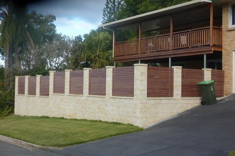 Besser block tiered garden retaining wall google search for Besser block home designs