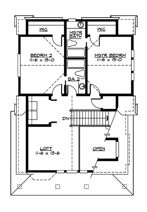 2 bedroom garage apartment homes house plans bungalow - Two bedroom garage apartment plans ...