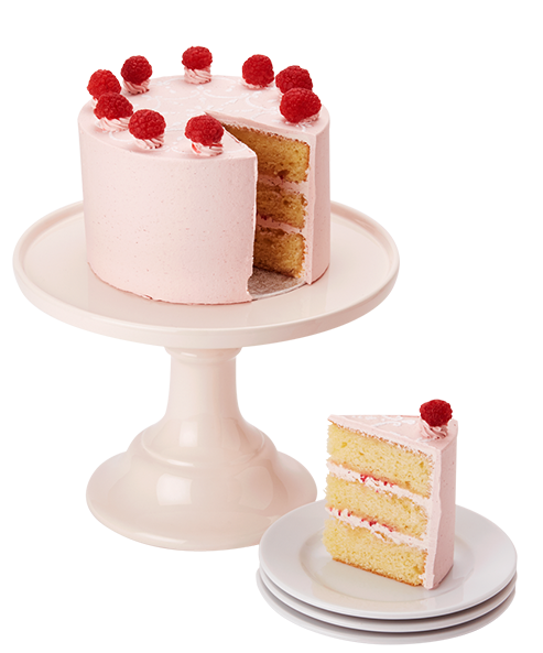 Peggy Porschen Lemon Raspberry And Rose Cake