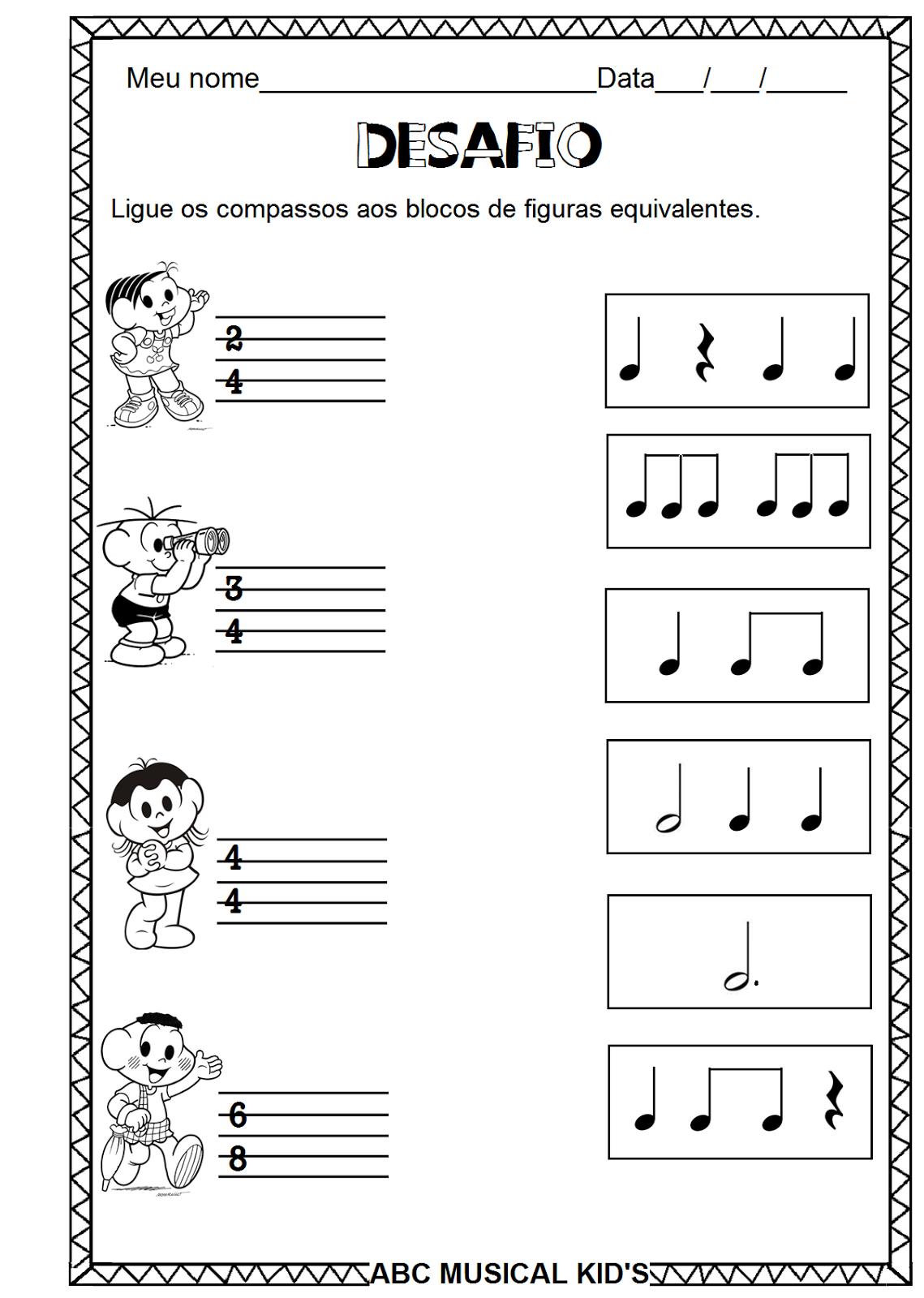 Atividades De Educacao Infantil E Musicalizacao Infantil Atividades De Musica
