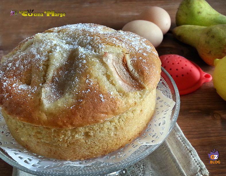 TORTA WILLIAMS, morbida, soffice ideale per la colazione o merenda un 'ottima alternativa della classica torta di mele.Una ricetta molto semplice....
