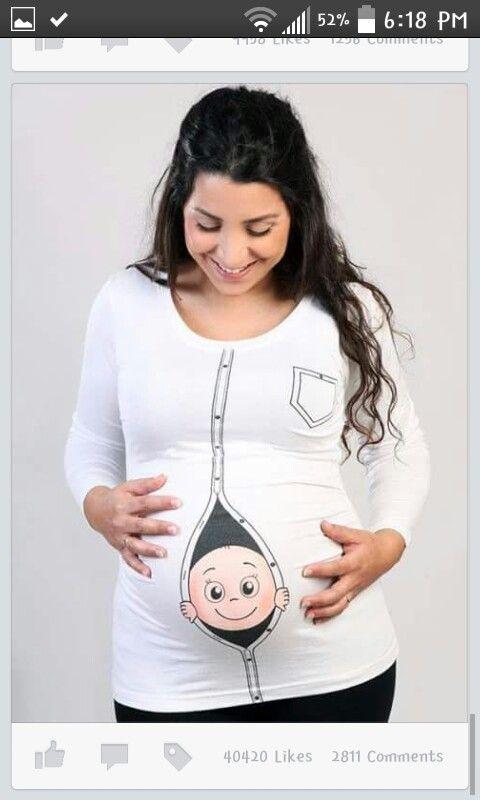 806d0203eeea1 Omg cute baby peeking out shirt T Shirts For Women, Maternity, Tops, Fashion