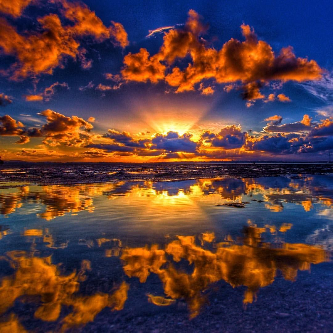 Astonishing Sunsets And Sunrises From Southeast Queensland Sunset Landscape Landscape Photography Beach Sunset Photography