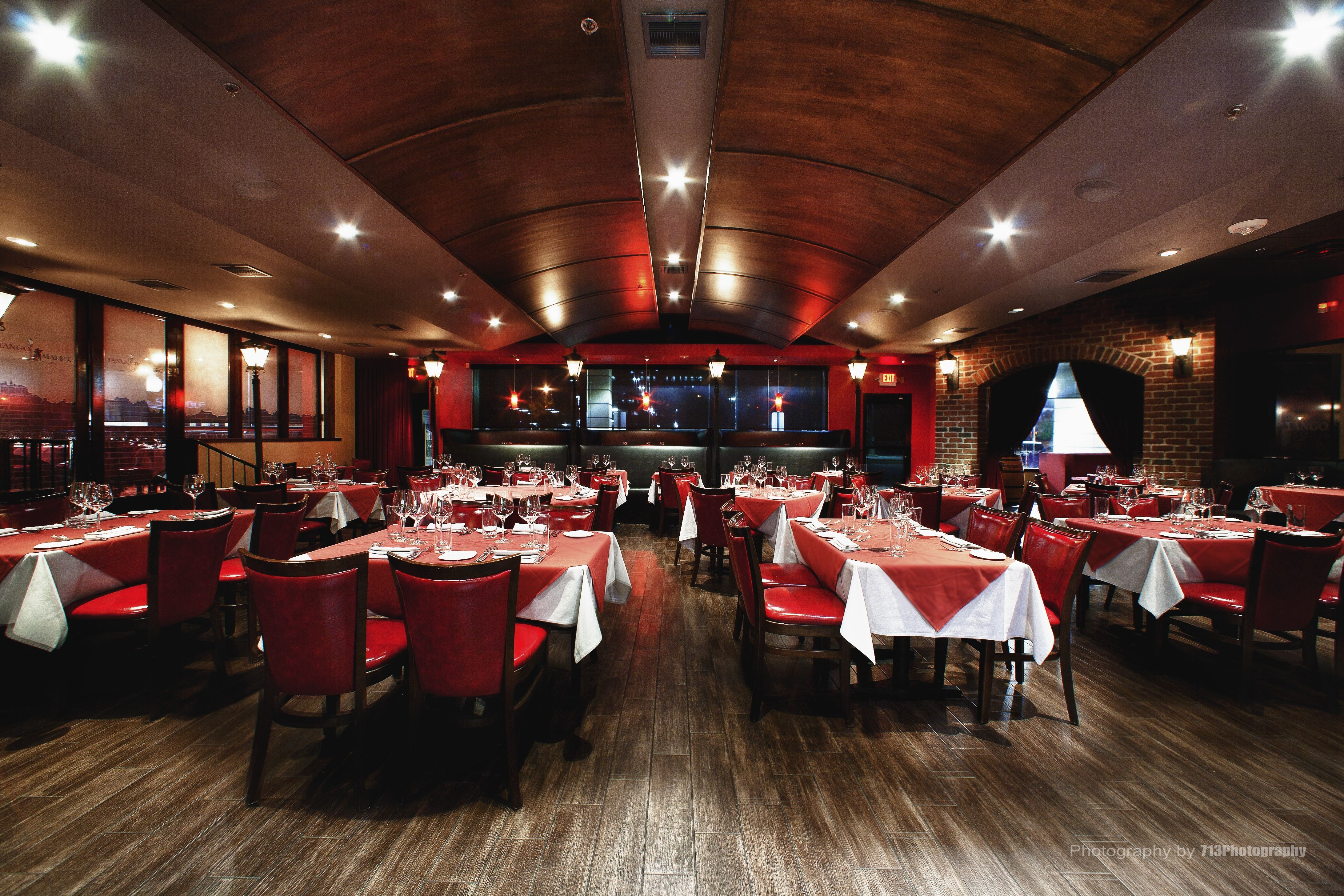 Main Dining Room In Tango Malbec Argentinian Steakhouse Located