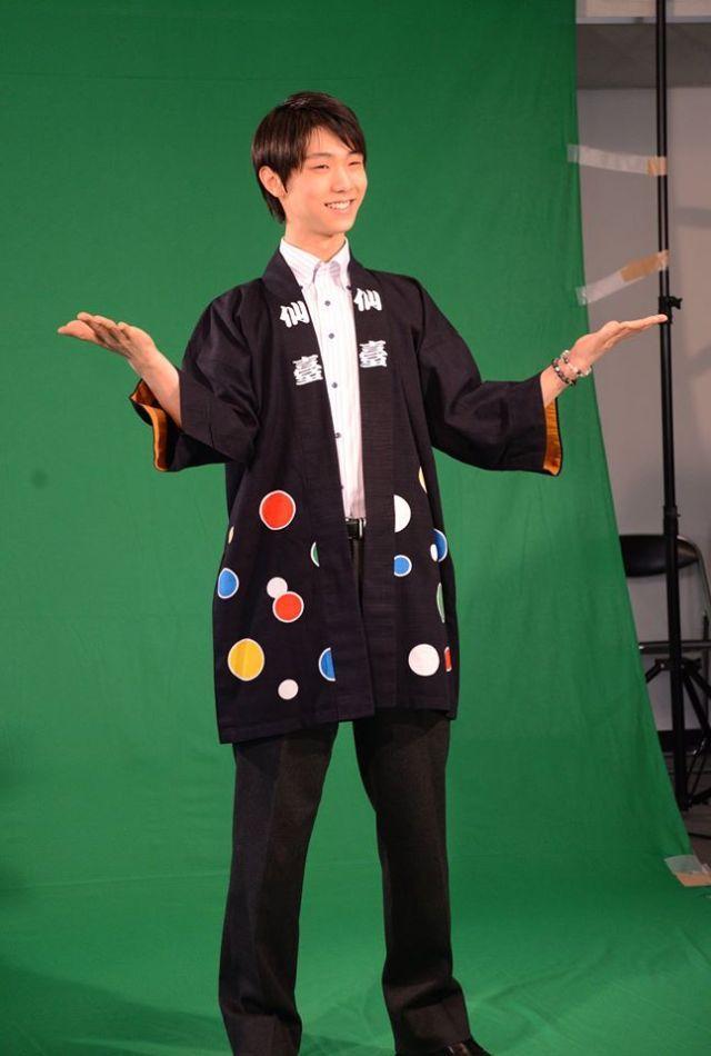 yucchi — 仙台市では羽生選手に仙台観光アンバサダーを委嘱。仙台のPRにご協力いただきます☆ 「仙臺」のはっぴ姿も...
