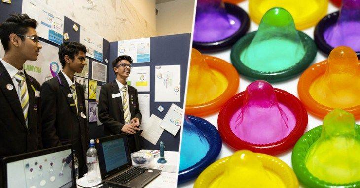 Estos condones encienden cuando detectan Enfermedades Sexuales - http://soynn.com/2015/12/07/estos-condones-encienden-cuando-detectan-enfermedades-sexuales/