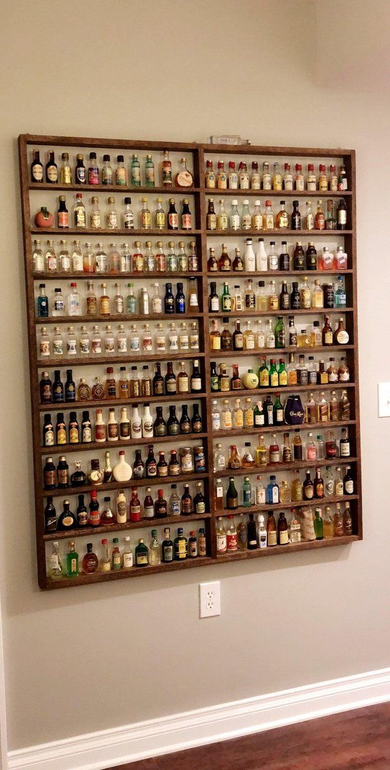 Custom Made Mini Liquor Bottle Display