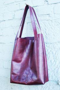 Einkaufstasche/Ledershopper - Lederwerkstatt und Design - DrachenEi