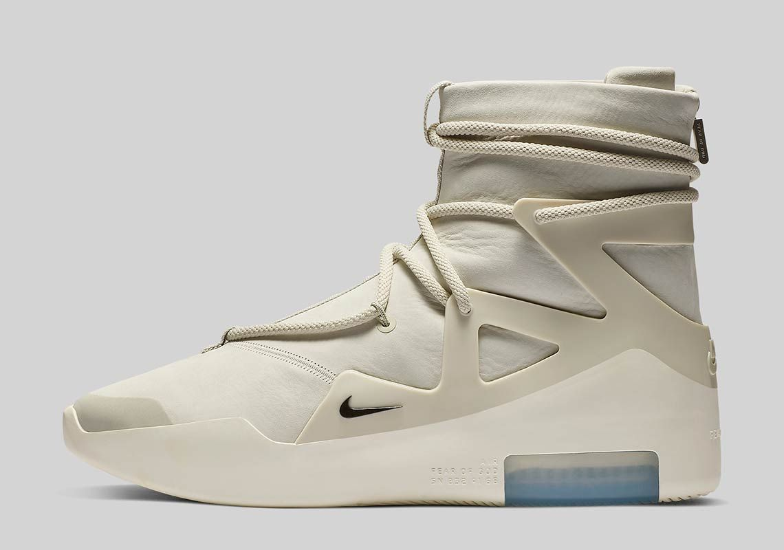 Official Images Of The Nike Air Fear Of God 1 | Sapatos