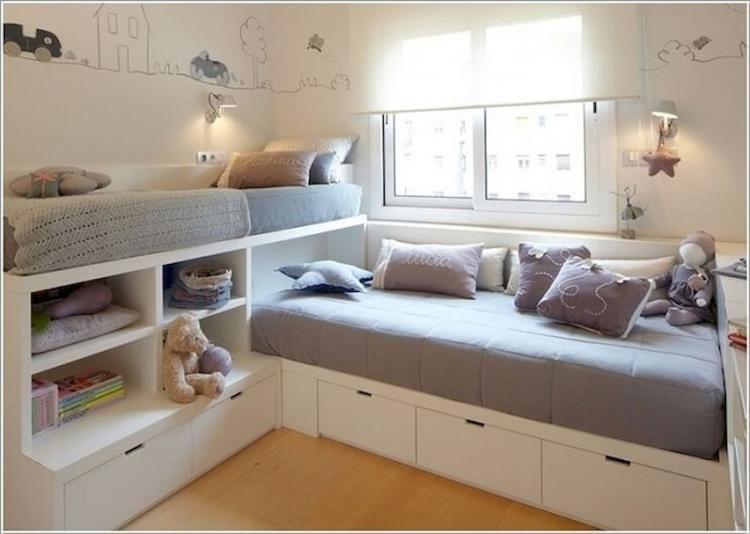 50 Admirable Bedroom Storage Ideas Small Kids Room Storage Kids Room Childrens Bedrooms