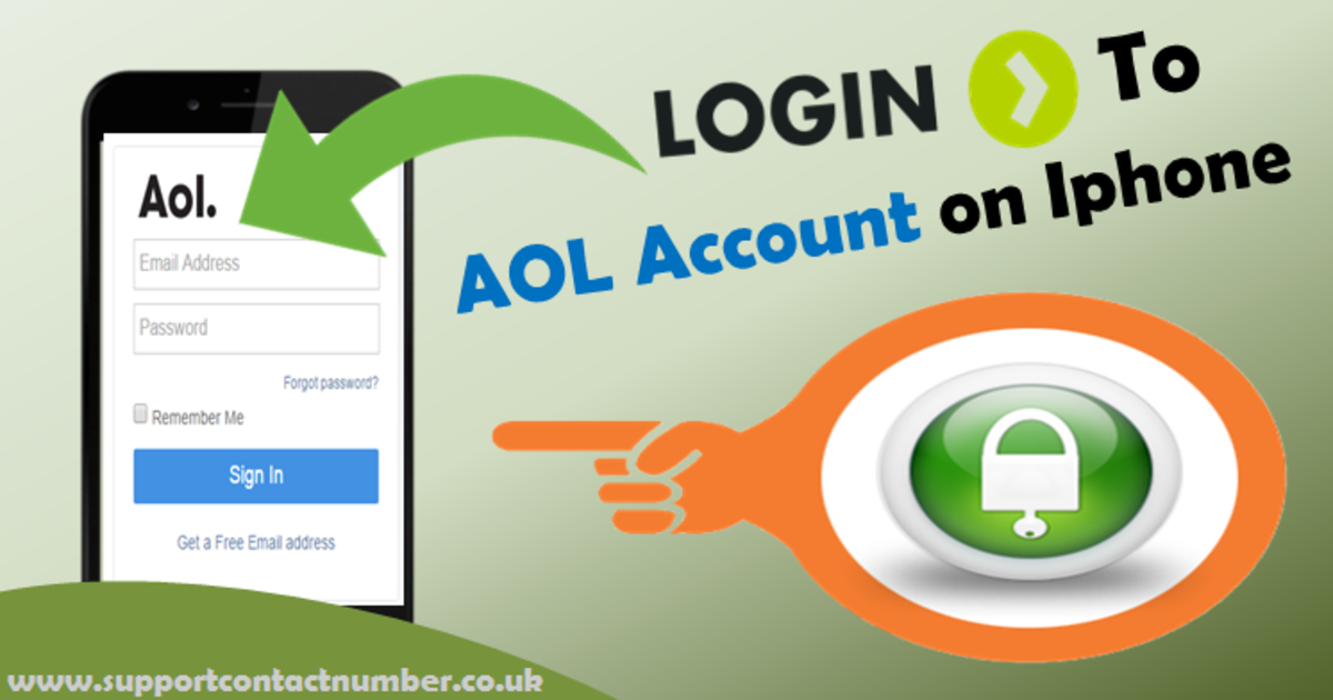 Basic Steps To Login To Aol Account On Your Iphone Iphone Aol