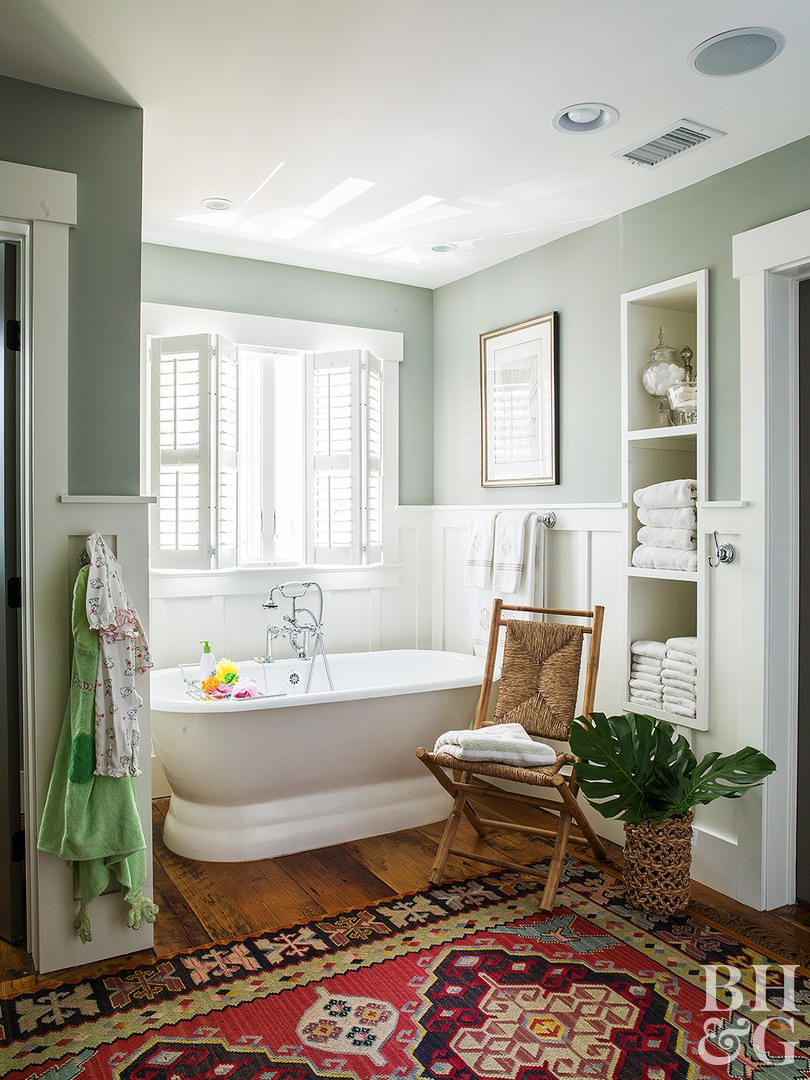 20 Green Paint Colors Our Editors Swear By Green Bathroom White Bathroom Mold In Bathroom