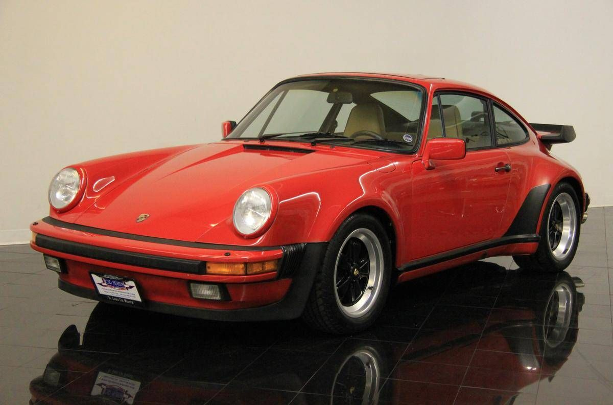 1987 porsche 930 911 930 turbo coupe