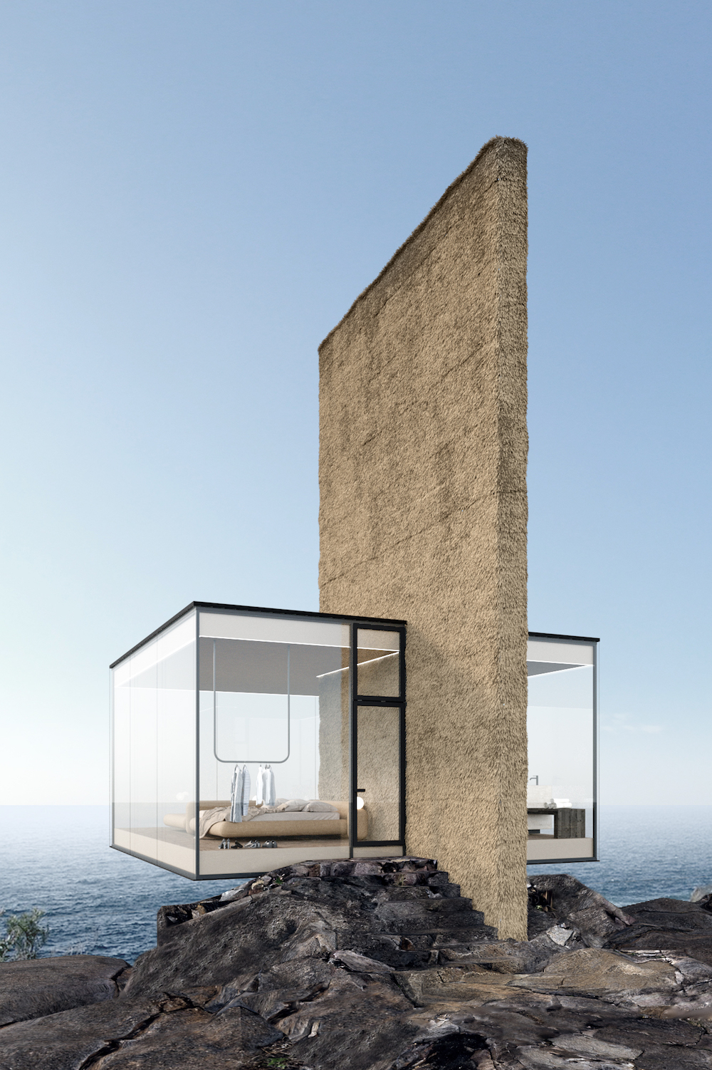 This Transparent Cabin Sits At The Edge Of The World - ASPIRE