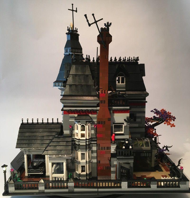 Lego Ideas Spotlight The Addams Family Mansion