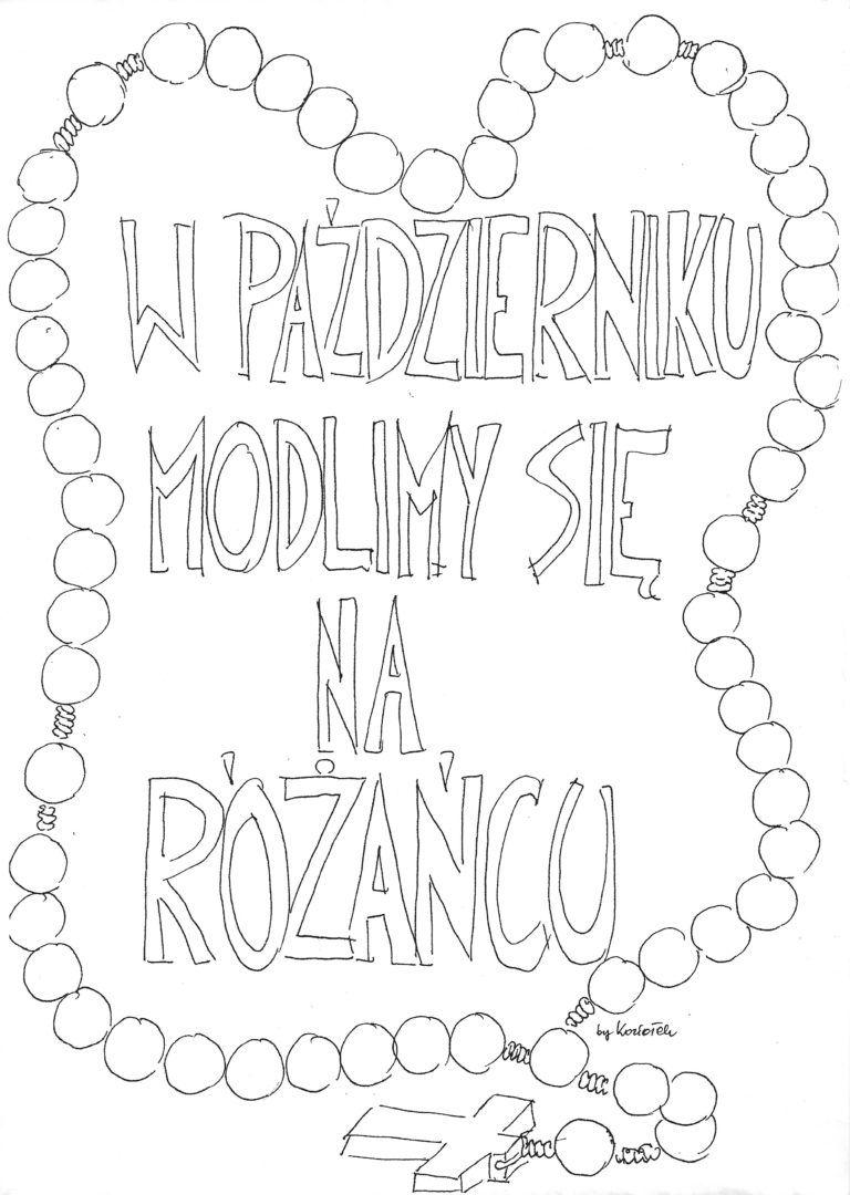 Rozaniec Katecheza Wizualna With Images Kolorowanki