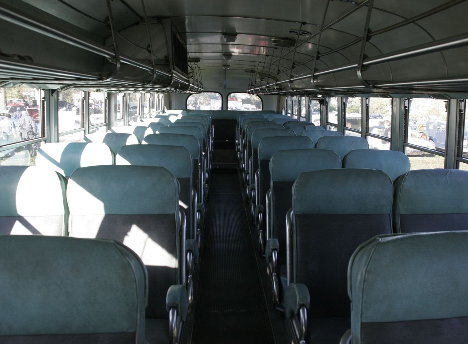 Gallery Images And Information Greyhound Bus Interior With
