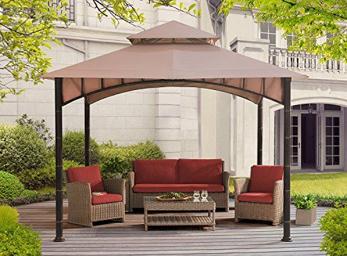 Sunjoy D Gz136pst N 10 X 10 Summer Breeze Soft Top Gaze Https Www Amazon Com Dp B01mturua7 Ref Cm Sw R Pi Dp Patio Gazebo Backyard Gazebo Gazebo Canopy
