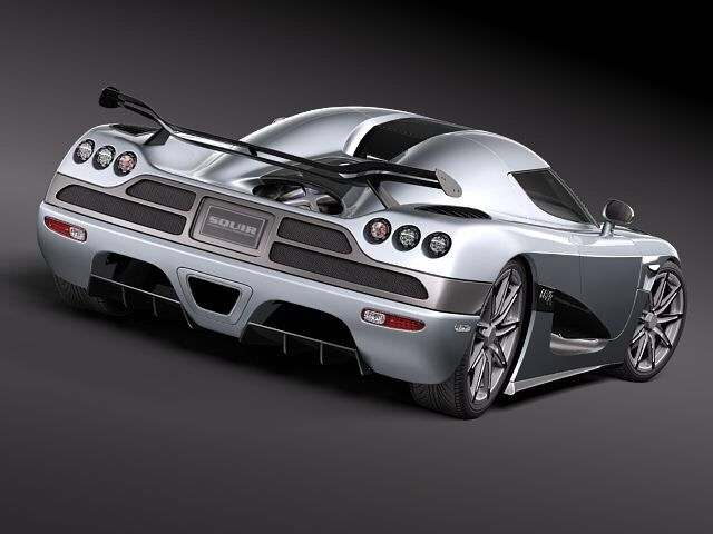 Lovely Koenigsegg CCXR Trevita $4.85 Million