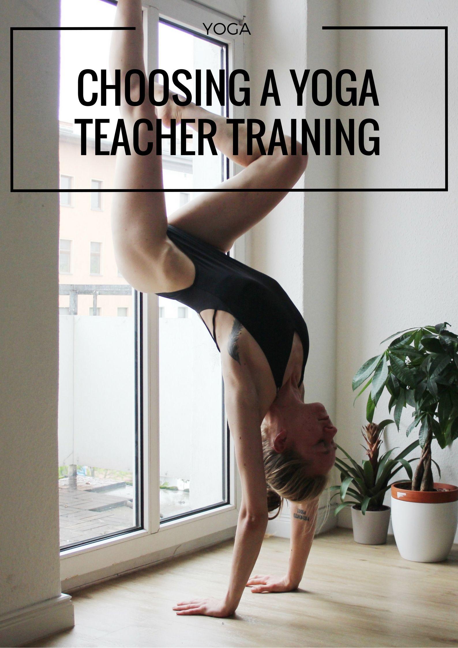 A guide to choosing your yoga teacher training ytt