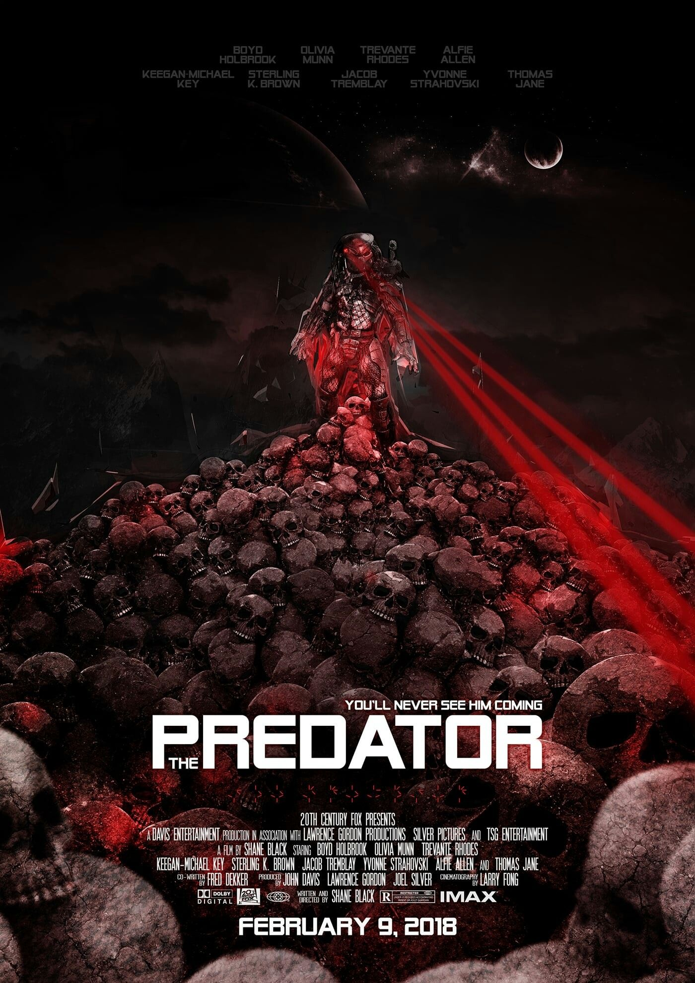 The Predator Movie Poster Thepredator Predator Fantastic Movie