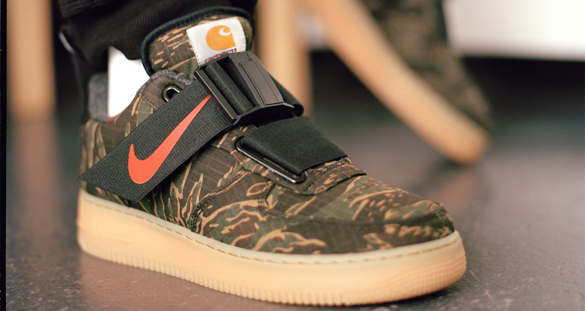 Air Force 1 Utility Low Premium Carhartt WIP 'Camo Green
