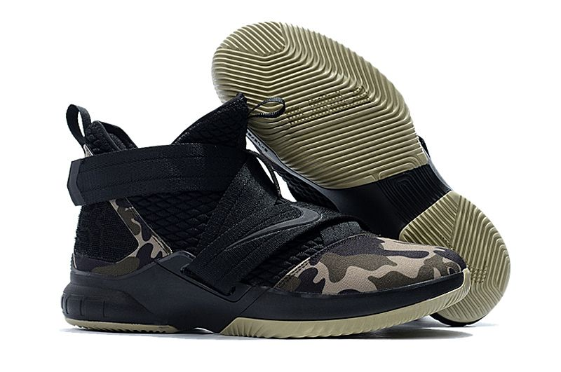 51082c8504a Nike LeBron Soldier 12 Strive For Greatness Goes Military Camo on  www.soldier12shoe.com