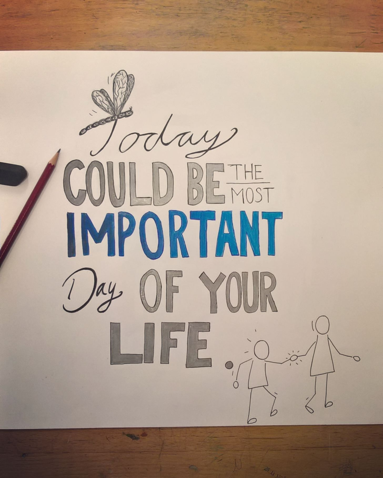 #art #quote #life #important #drawing