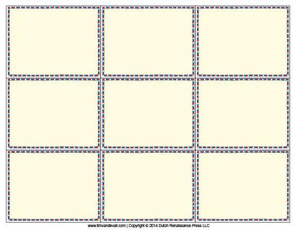 Blank Flash Card Templates Printable Flash Cards Flash For Word Cue Card Template Flash Card Template Printable Flash Cards Free Printable Flash Cards