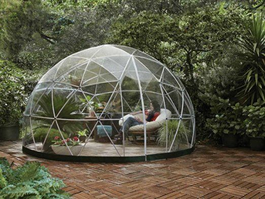 Jardideco - Abri de jardin Garden Igloo Hiver - 10 m²   Exterieur ...
