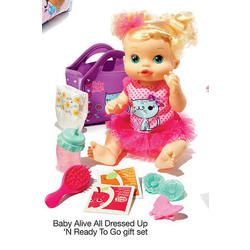 Zoe-Baby Alive All Dressed Up N' Ready to Go gift set at Kohl's Black Friday