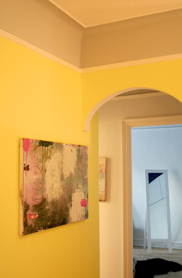 Paint colors that match this Apartment Therapy photo: SW 6367 Viva ...