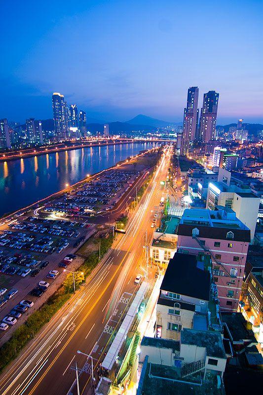 Ulsan City, South Korea 아름답다.. 울산.. 정말..