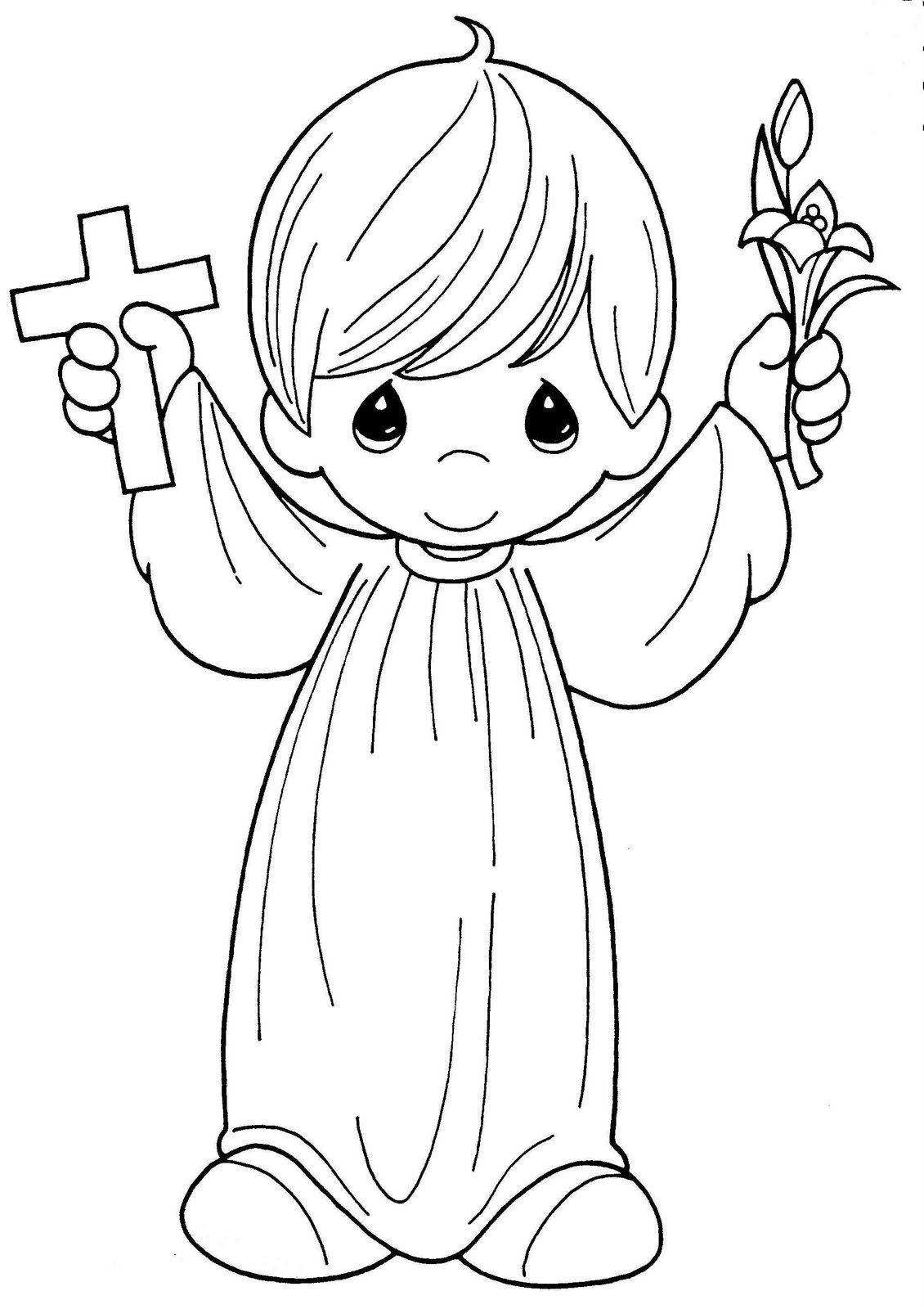 biblicos para colorear dibujos de preciosos momentos dibujos en ...
