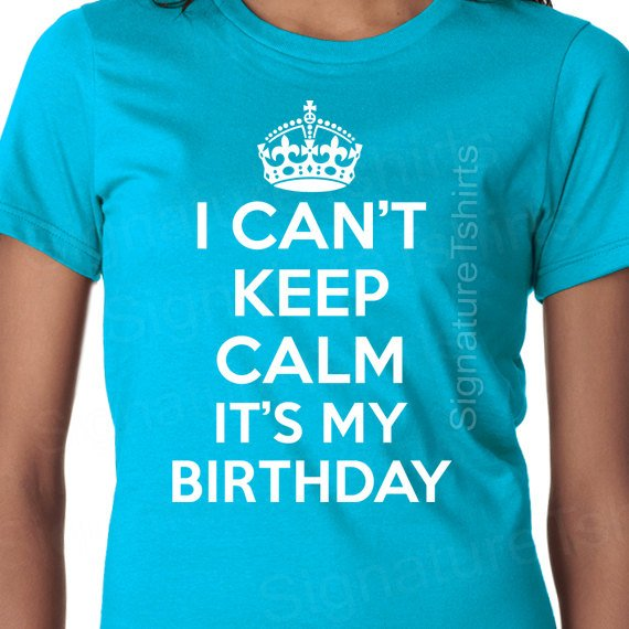 I Can/'t Keep Calm It/'s My 40th Birthday T-Shirt