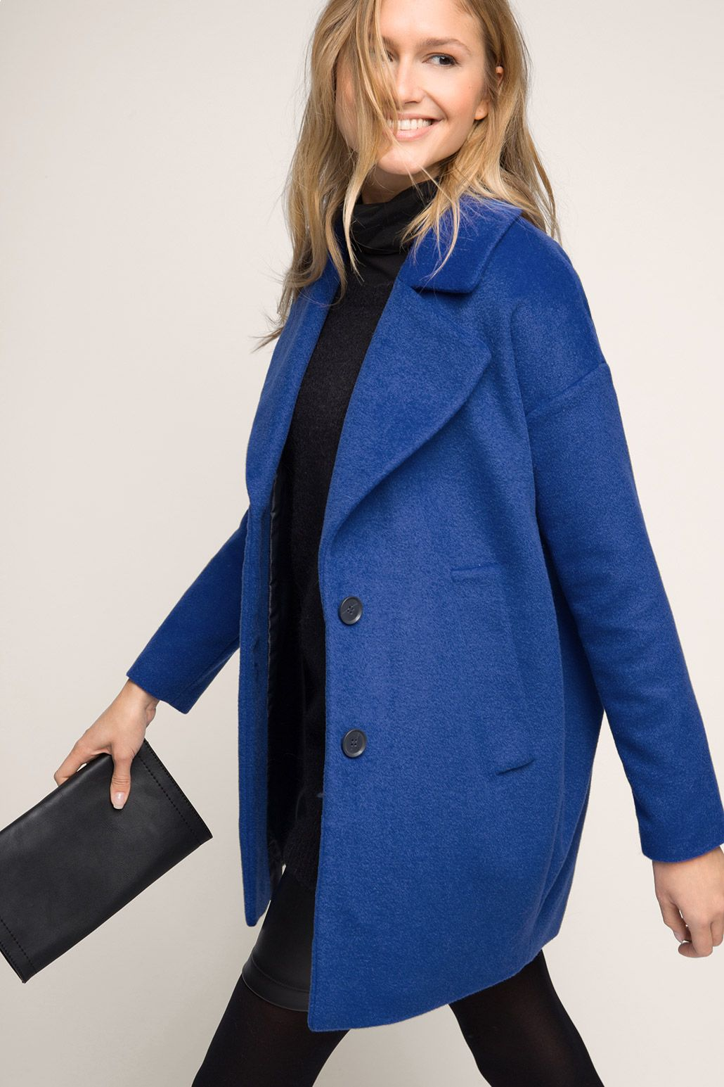 Wide Oversized Coat In A Wool Blend Oversized Coat Coat Clothes [ 1545 x 1030 Pixel ]