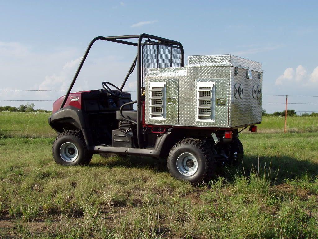 Bilderesultat for polaris quail hunting rig