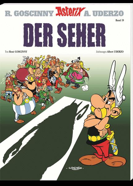 Asterix Nr 19 Der Seher Ziener Bucher Asterix Und Obelix