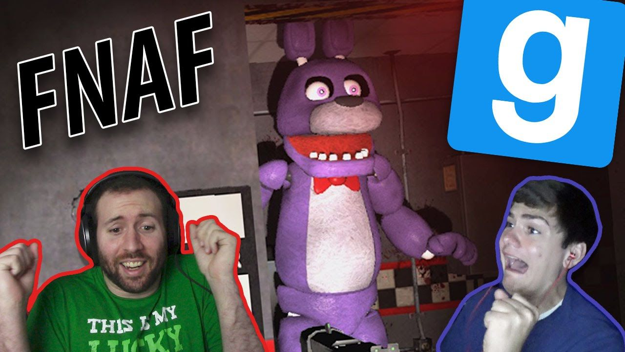 JP, MEET THE FNAF CREW! | GMod Horror Maps: Five Nights At