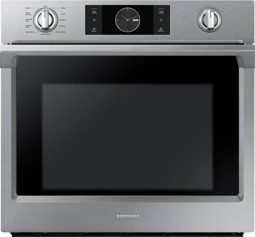Samsung 1 2 Cu Ft Countertop Convection Microwave With Powergrill Black Mc12j8035ct Best Buy Single Wall Oven