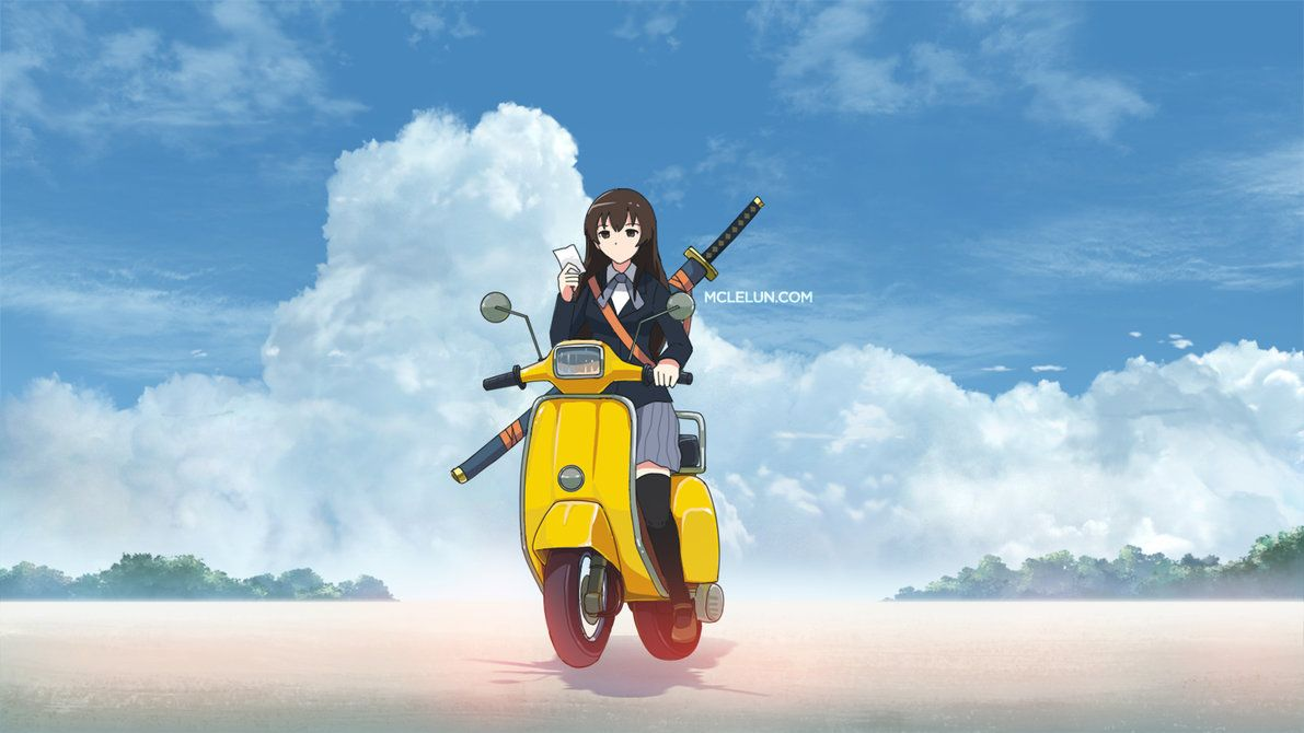 Bike by mclelun pinterest cloud photoshop and anime anime cloud painting tutorial using photoshop baditri Image collections
