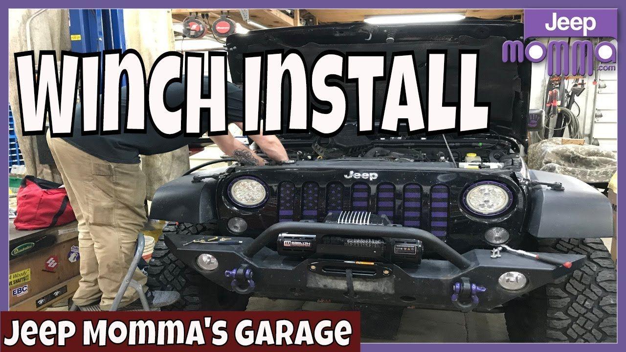 Jeep Momma Daniel In The Garage Quadratec Winch Install With Adrenalin Jeep Jeep Winch Winch