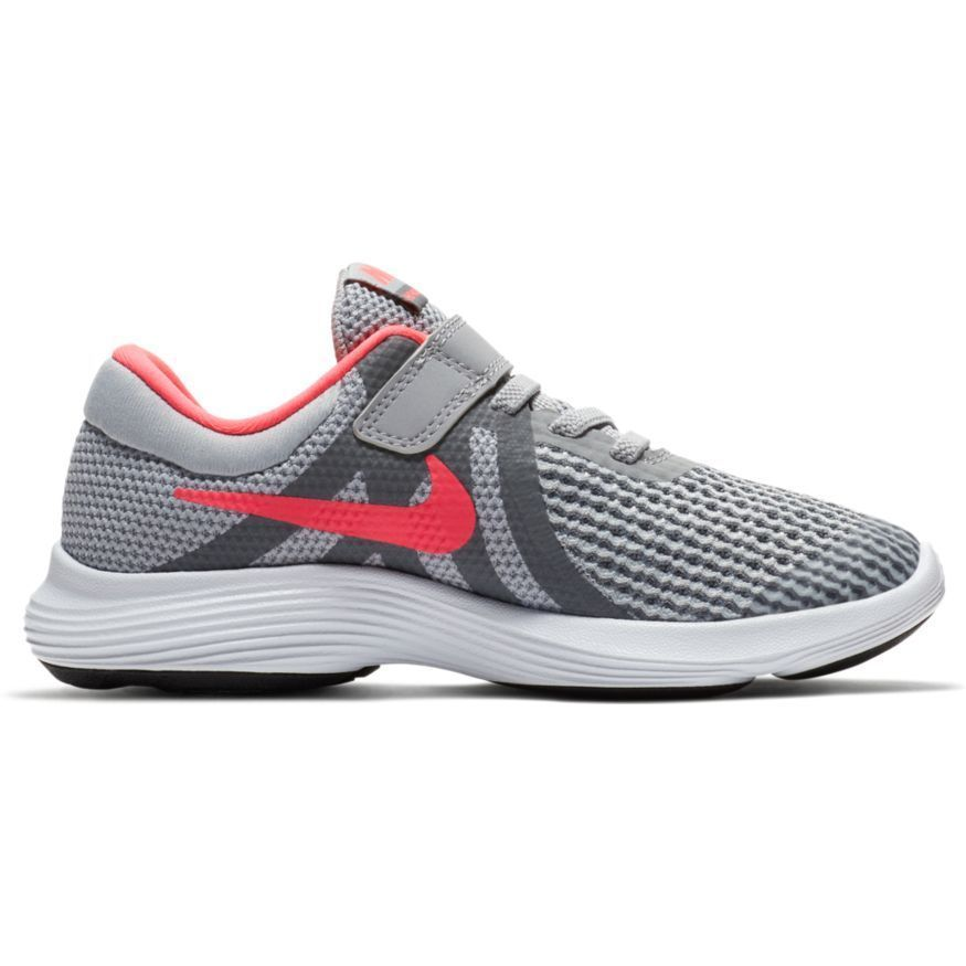 802cff32c37fc eBay  Sponsored NIKE REVOLUTION 4 (PSV) Grey Pink 943307 003 Mesh Kids  Running