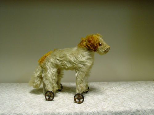 Antique Dog on Wheels | eBay