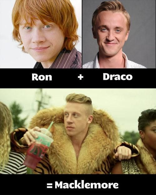 Ron Draco Funny I Love To Laugh Harry Potter
