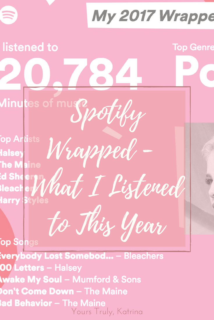Spotify Wrapped 2017 What I Listened to This Year